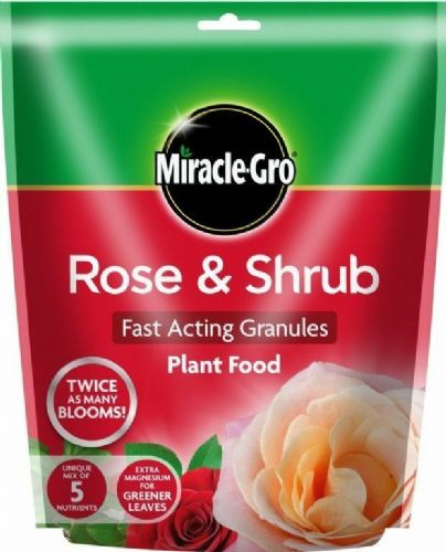 Miracle Gro Rose & Shrub plant food 750g Pouch